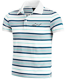Greg Norman for Tasso Elba Kids' Bedford Stripe Polo, Created for Macy's