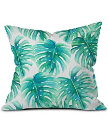 Deny Designs Paradise Palms Throw Pillow