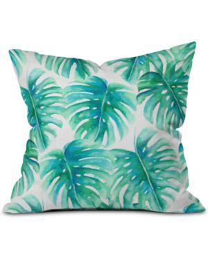 DENY DESIGNS | Deny Designs Paradise Palms Throw Pillow | Goxip