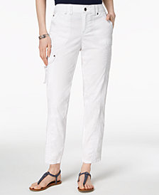 Style & Co Topstitched Pants, Created for Macy's