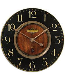 """Uttermost Alexandre Martinot 30"""" Clock"""