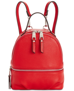 aaaf1acd301 STEVE MADDEN JACKI CONVERTIBLE BACKPACK, RED/SILVER ...