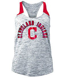 5th & Ocean Women's Cleveland Indians Space Dye Tank