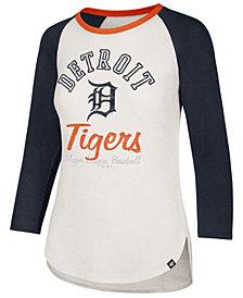 '47 Brand Women's Detroit Tigers Vintage Raglan T-Shirt