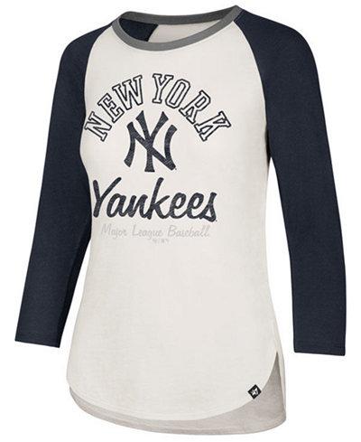 '47 Brand Women's New York Yankees Vintage Raglan T-Shirt