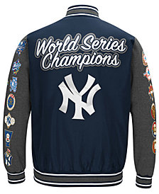 G-III Sports Men's New York Yankees Varsity Comm Patch Jacket