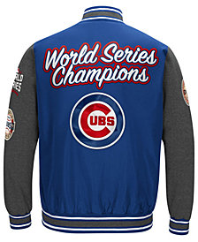 G-III Sports Men's Chicago Cubs Varsity Comm Patch Jacket