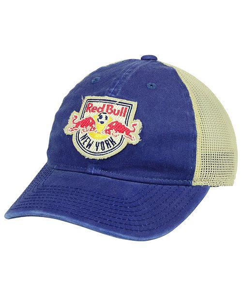 adidas New York Red Bulls Bleached Trucker Cap - Sports Fan Shop By ... a15829a59d5