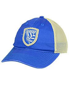 adidas San Jose Earthquakes Bleached Trucker Cap