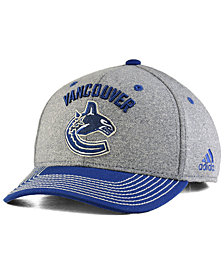 adidas Vancouver Canucks Heather Line Change Cap
