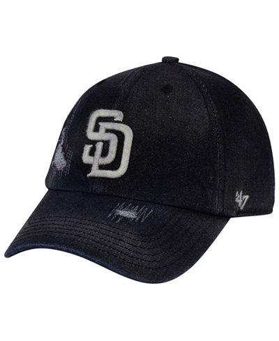 '47 Brand San Diego Padres Dark Horse CLEAN UP Cap