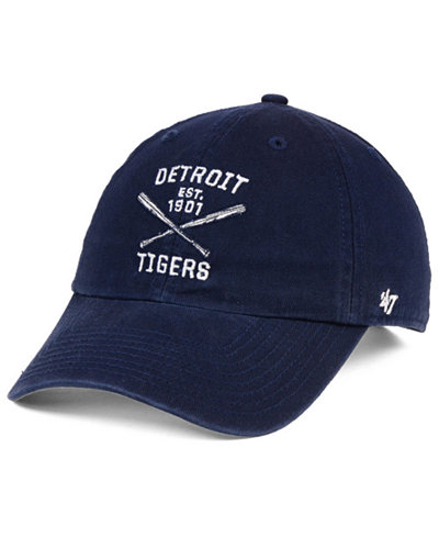 '47 Brand Detroit Tigers Axis CLEAN UP Cap