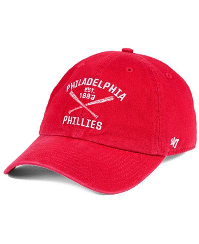 '47 Brand Philadelphia Phillies Axis CLEAN UP Cap