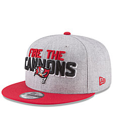 New Era Tampa Bay Buccaneers Draft 9FIFTY Snapback Cap