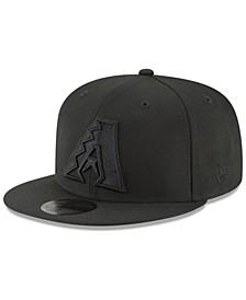 Arizona Diamondbacks Blackout 59FIFTY FITTED Cap