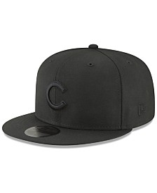 New Era Chicago Cubs Blackout 59FIFTY FITTED Cap