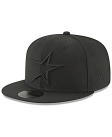 Houston Astros Blackout 59FIFTY FITTED Cap