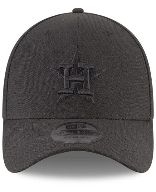 factory price cab80 40f8f ... italy new era houston astros blackout 39thirty cap sports fan shop by lids  men macys 093b9