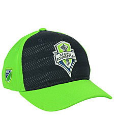 adidas Seattle Sounders FC Authentic Flex Cap