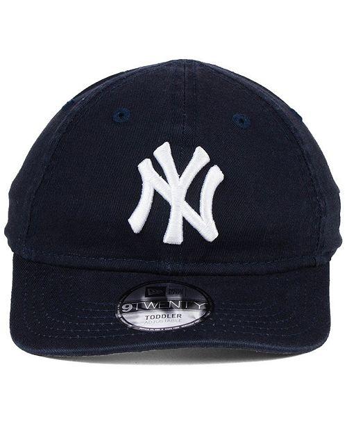 71c25b5f389 ... italy new era boys new york yankees jr on field replica 9twenty cap  sports fan shop