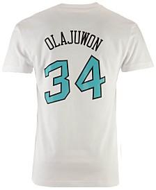 Mitchell & Ness Men's Hakeem Olajuwon NBA All Star 1996 Name & Number Traditional T-Shirt