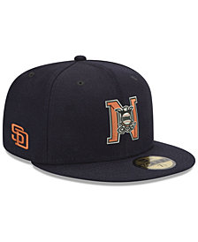 New Era San Diego Padres League Front 59FIFTY FITTED Cap