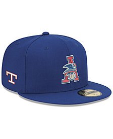 New Era Texas Rangers League Front 59FIFTY FITTED Cap