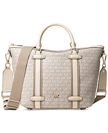 MICHAEL Michael Kors Signature Griffin Large Satchel