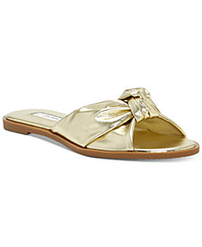 I.N.C. Guyen Knot Slide Sandals, Created For Macy's