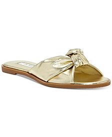 I.N.C. Guyen Knot Slide Sandals, Created For Macy's