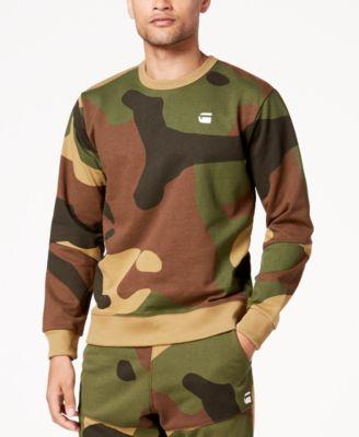 Men's Stalt Camouflage Fleece Sweatshirt
