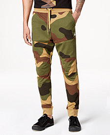 G-Star RAW Men's Camo Sweatpants