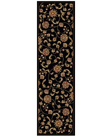 "CLOSEOUT! KM Home Pesaro Flores 2'2"" x 7'7"" Runner"