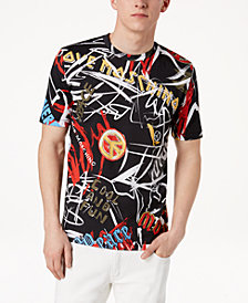 Love Moschino Graffiti-Print Cotton T-Shirt