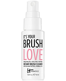 IT Cosmetics It's Your Brush Love Instant Brush Cleaner Mini, 1-oz.