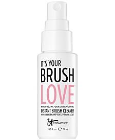 IT Cosmetics It's Your Brush Love Instant Brush Cleaner Mini, 1-oz.