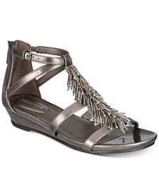 Kenneth Cole Reaction Women's Great Fringe Wedge Sandals