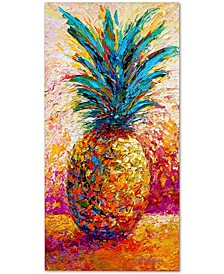 "Marion Rose 'Pineapple Expression' Canvas Art - 32"" x 16"" x 2"""