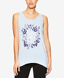 Gaiam Fiona Living The Dream Racerback Keyhole Tank Top