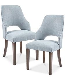 Jillian Dining Side Chair (Set of 2), Quick Ship
