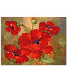 "'Poppies' Canvas Art - 32"" x 26"""