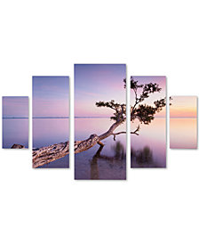 Moises Levy 'Water Tree XV' Large Multi-Panel Wall Art Set