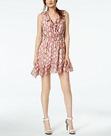 Rachel Zoe Lyle Silk Ruffled Fit & Flare Dress