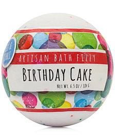 Fizz & Bubble Birthday Cake Artisan Bath Fizzy