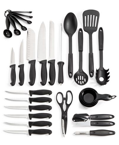 Martha Stewart Essentials 30-Piece Cutlery Set