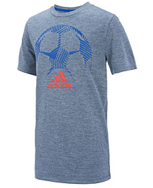 adidas Graphic-Print T-Shirt, Big Boys