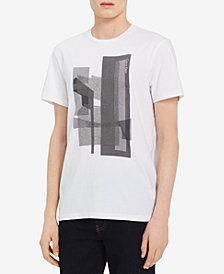 Calvin Klein Men's Graphic-Print Cotton T-Shirt