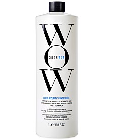 COLOR WOW Color Security Conditioner For Fine-To-Normal Hair, 33.8-oz., from PUREBEAUTY Salon & Spa