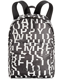 Hugo Boss Men's Record Logo Backpack
