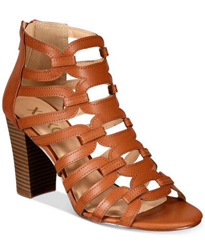 XOXO Bloomington Caged Dress Sandals